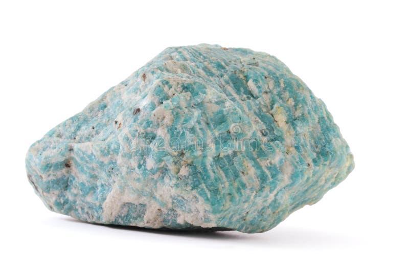 Pedra de Amazone imagem de stock royalty free