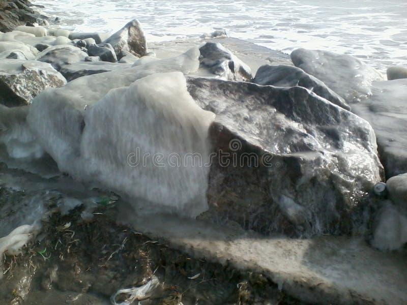Pedra de gelo imagem de stock
