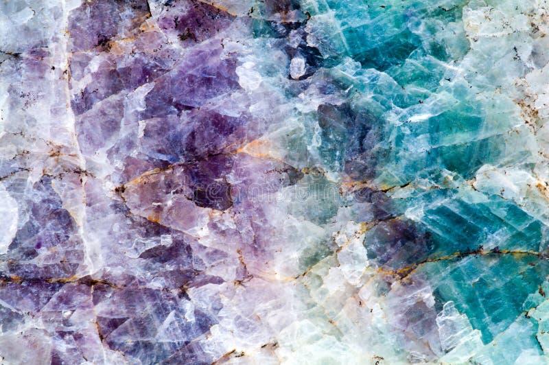Pedra de quartzo imagem de stock royalty free
