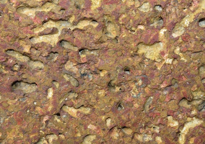 Pedra do Laterite imagens de stock