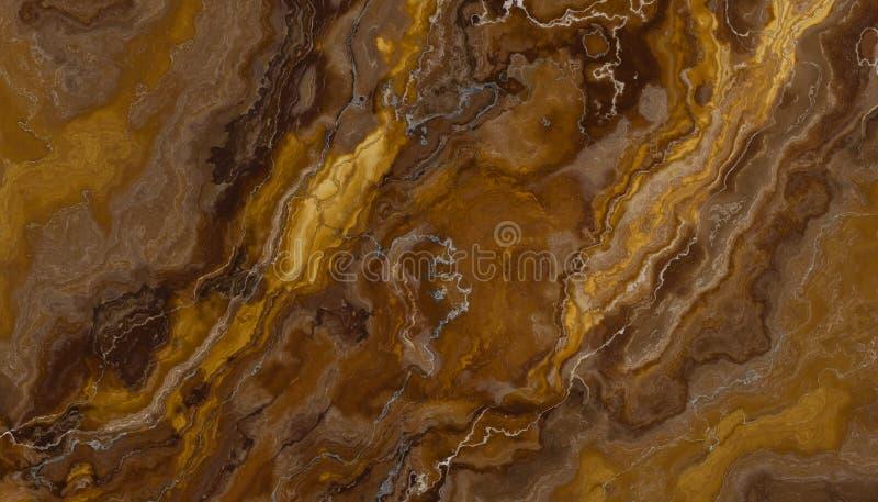 Pedra do mármore da veia de Brown foto de stock