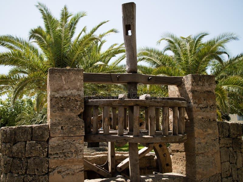 Pedra do moinho fotografia de stock