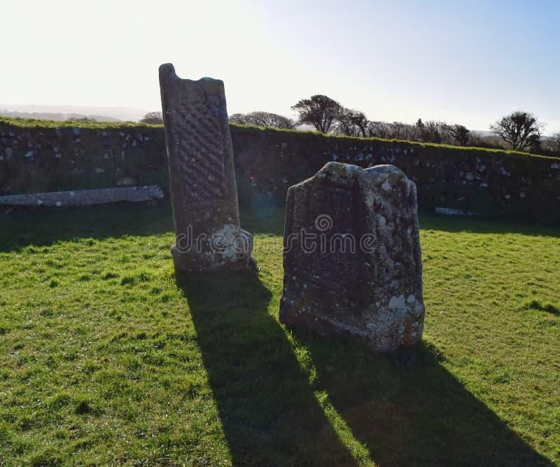 Pedra do ` s do rei Doniert em Cornualha, Inglaterra imagens de stock royalty free