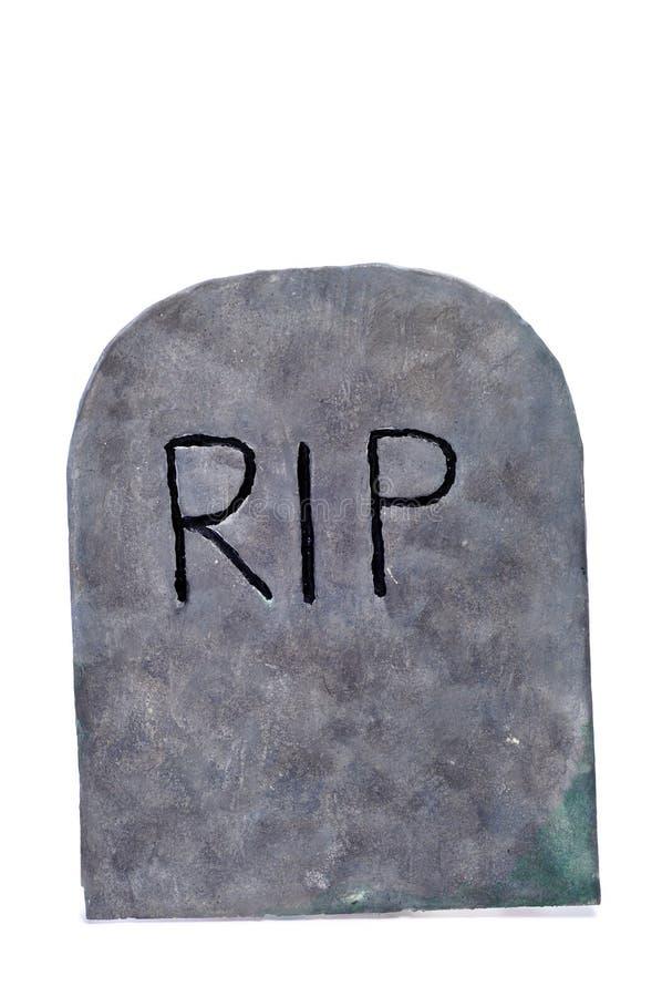 Pedra do túmulo de Halloween imagens de stock royalty free