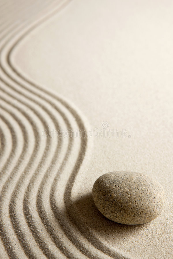 Pedra do zen