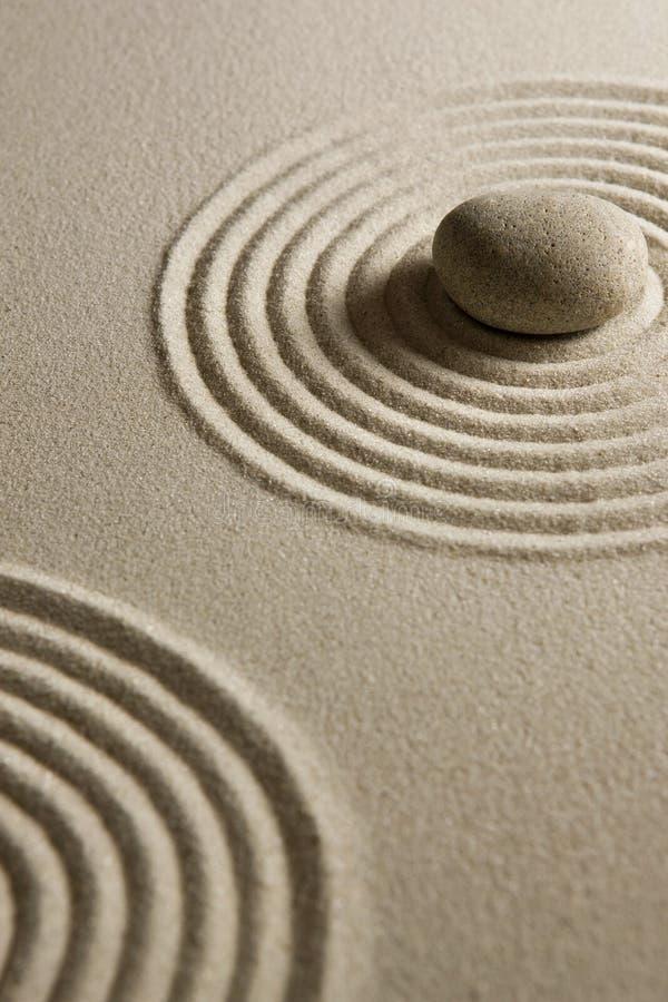 Pedra do zen fotos de stock