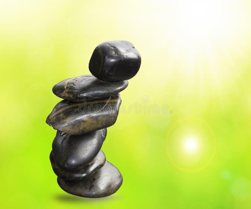 Pedra do zen do balanço imagens de stock royalty free