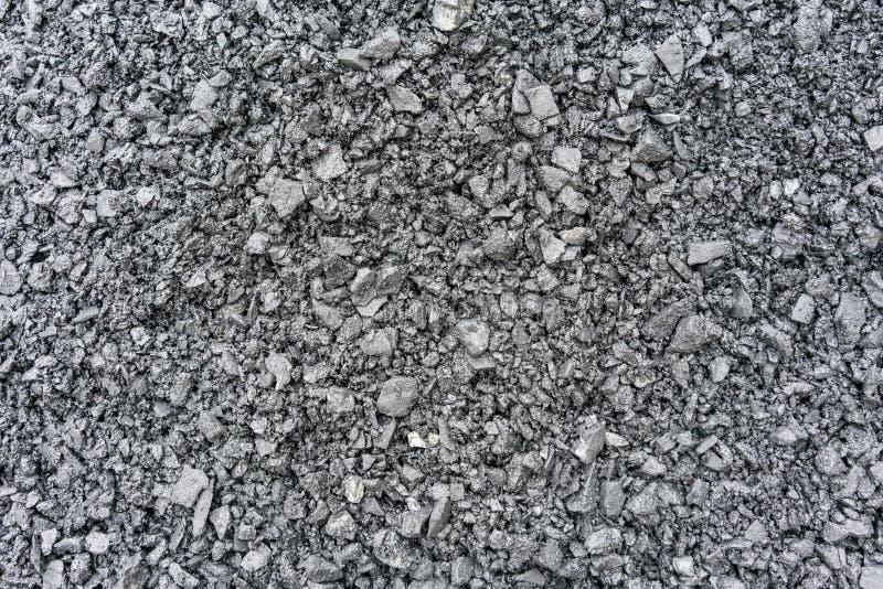 Pedra e cascalho esmagados como o fundo ou a textura imagens de stock