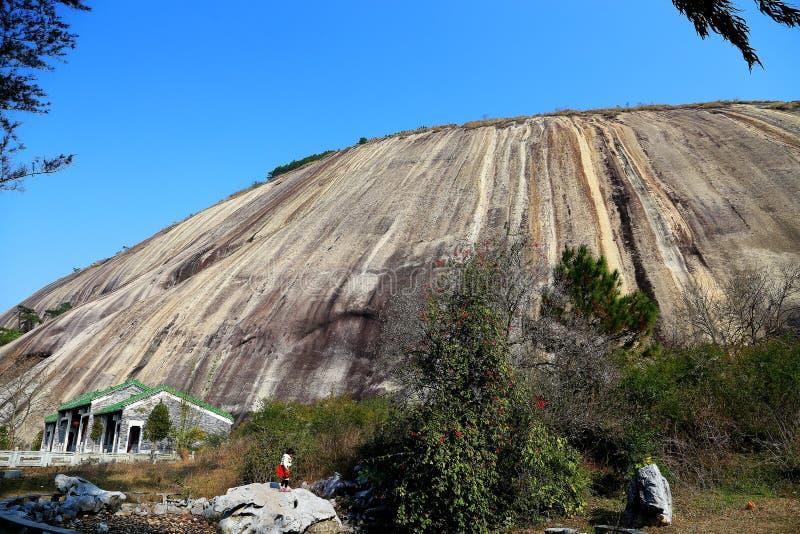 A pedra a mais grande em Ásia fotografia de stock