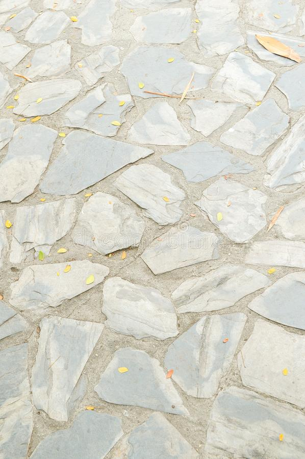 Pedra na textura do assoalho do cimento imagem de stock