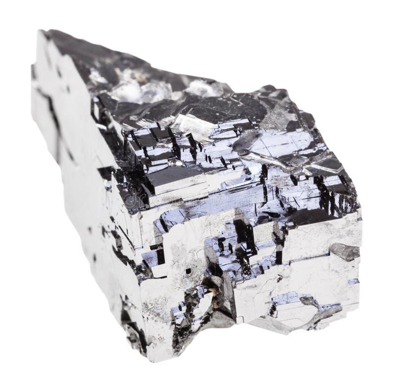 Pedra natural do galeno isolada foto de stock