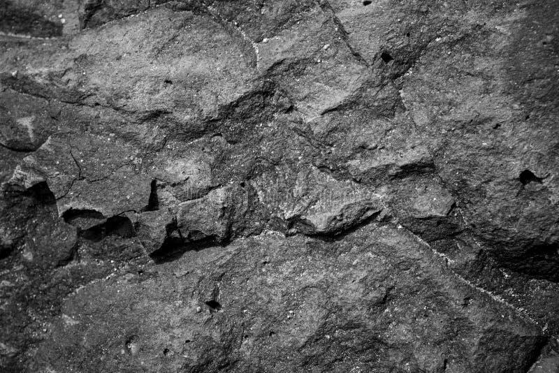 Pedra ou rocha no uso do assoalho como o fundo e a textura fotos de stock royalty free