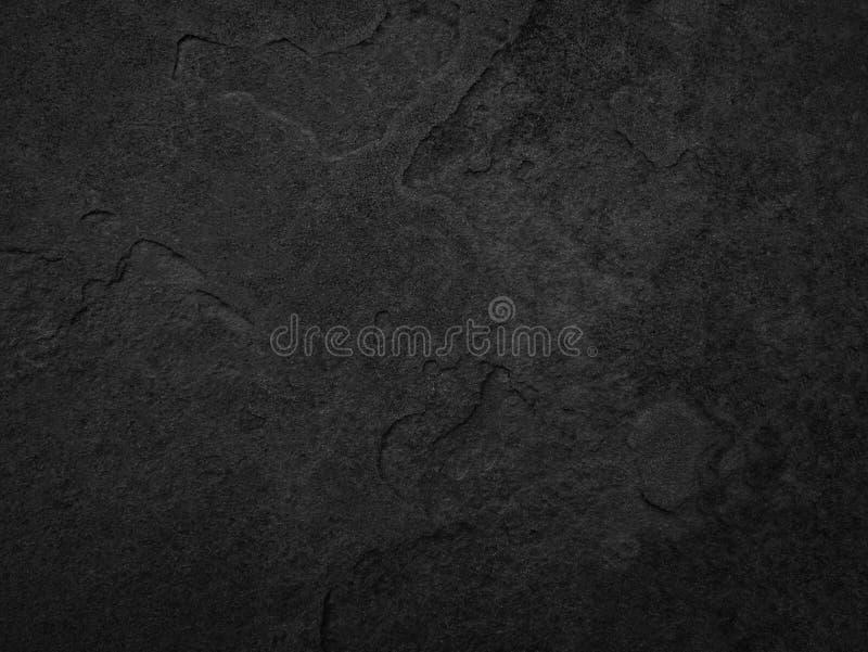 Pedra preta, fundo da textura da ardósia imagens de stock royalty free