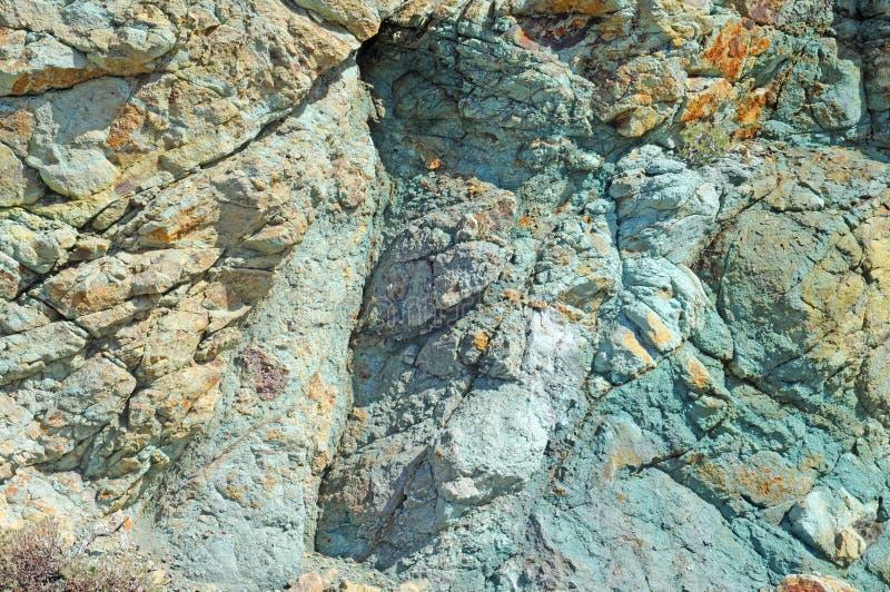 Pedra vulcânica fotografia de stock royalty free