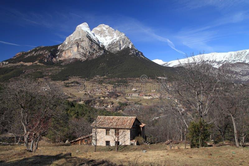 The Pedraforca Massif royalty free stock photos