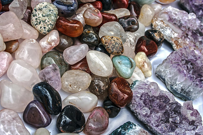Pedras 3 da energia fotos de stock royalty free