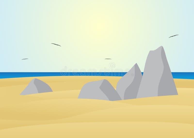 pedras ilustração do vetor