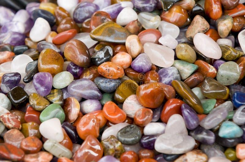 Pedras coloridas foto de stock royalty free