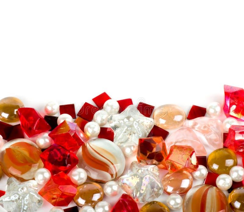 Pedras coloridas brilhantes bonitas foto de stock