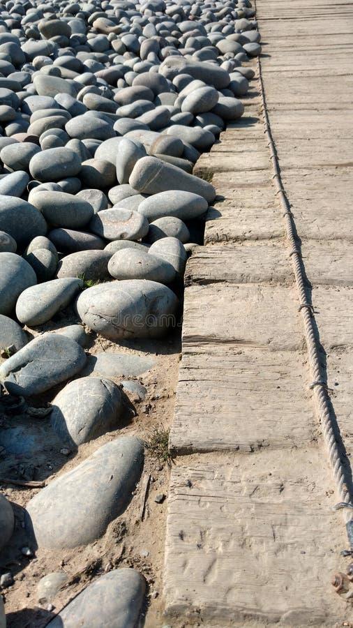Pedras da praia foto de stock royalty free