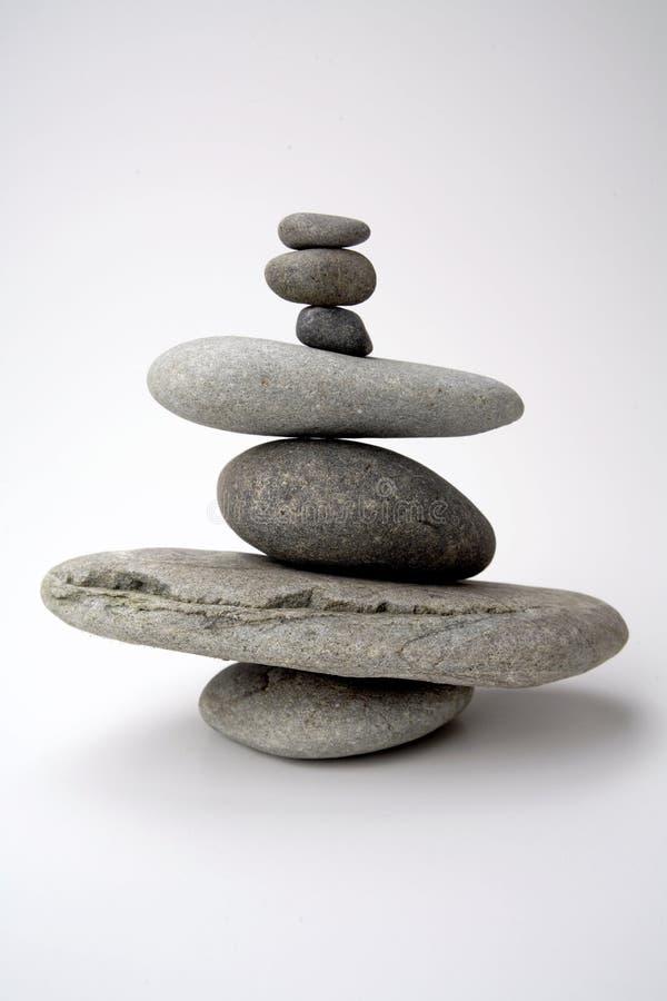 Pedras de equilíbrio foto de stock