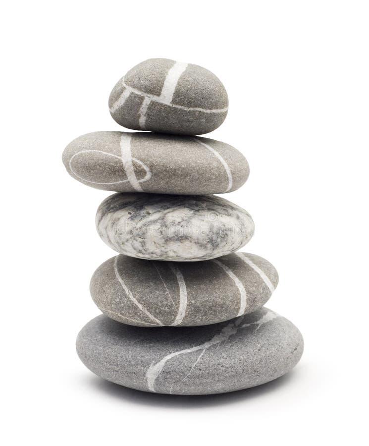 Pedras de equilíbrio imagem de stock royalty free