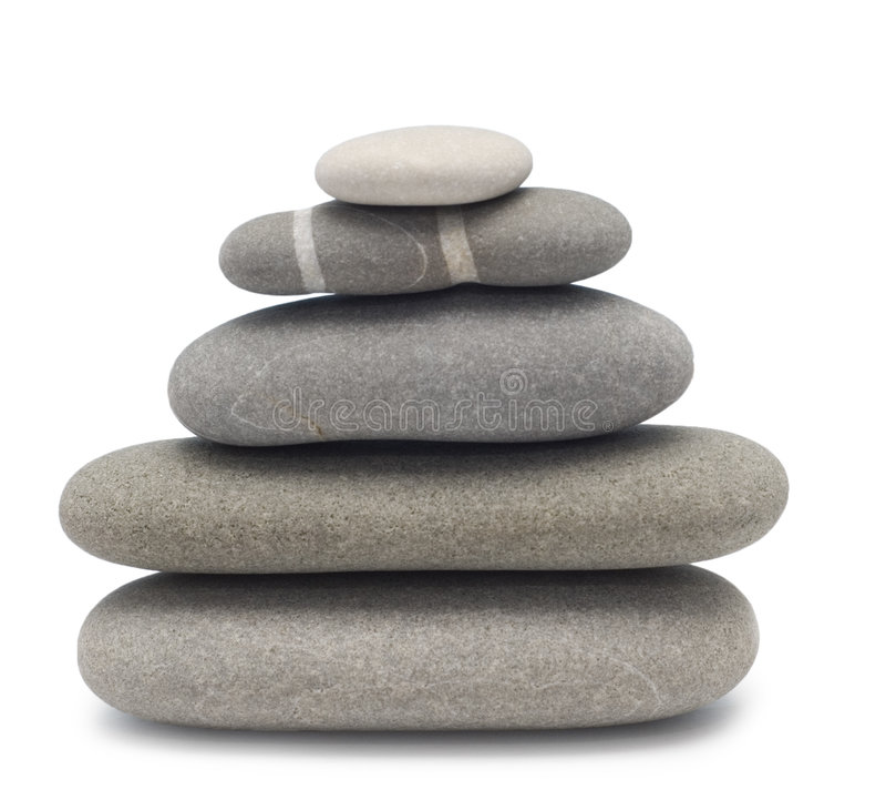 Pedras de equilíbrio imagens de stock royalty free