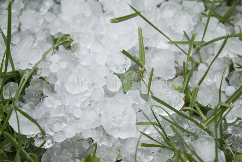 Pedras de granizo do gelo foto de stock royalty free