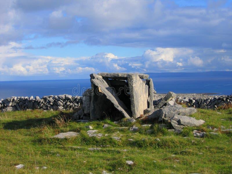 Pedras de Inishmor fotografia de stock royalty free