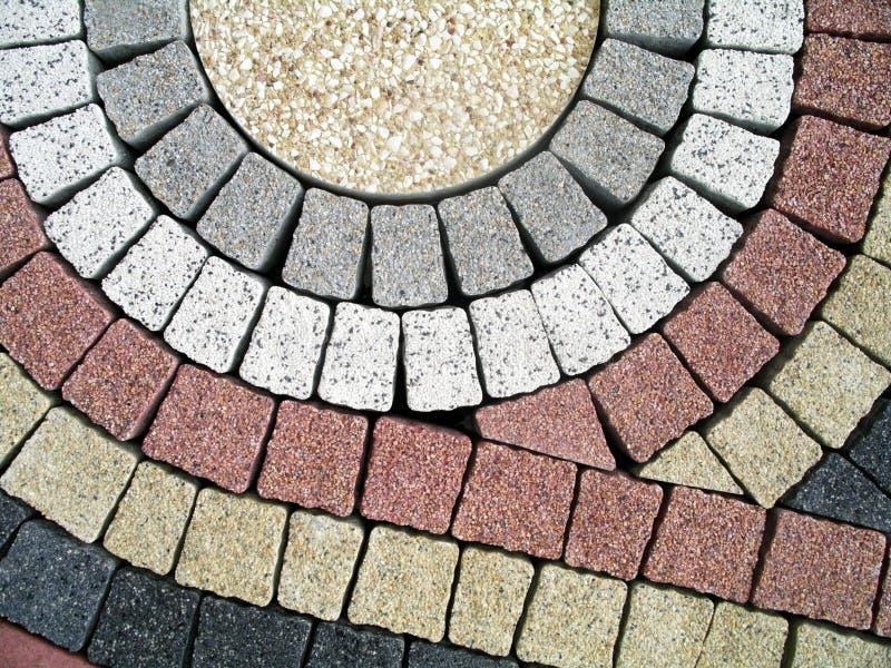 Pedras de pavimentação fotografia de stock
