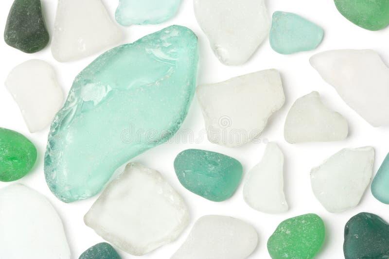 Pedras de vidro fotografia de stock royalty free