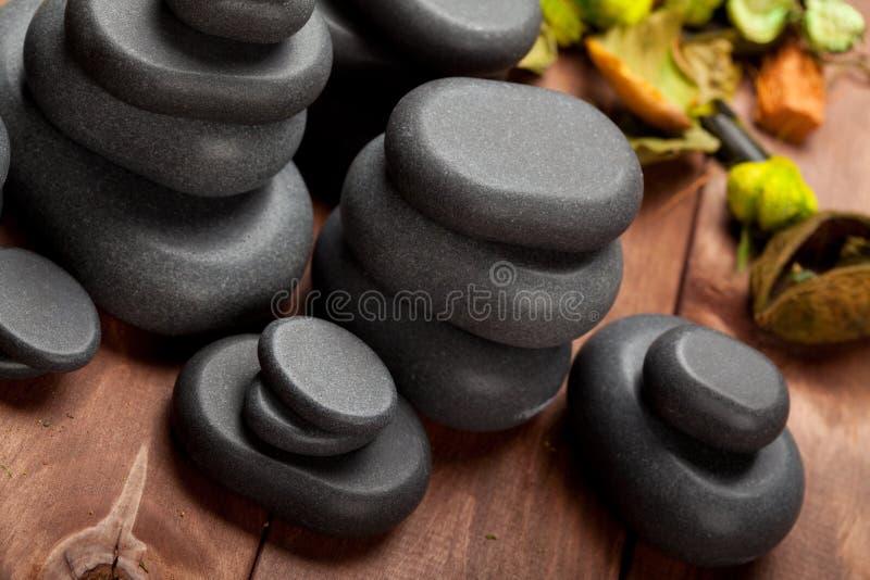 Pedras do basalto fotografia de stock royalty free
