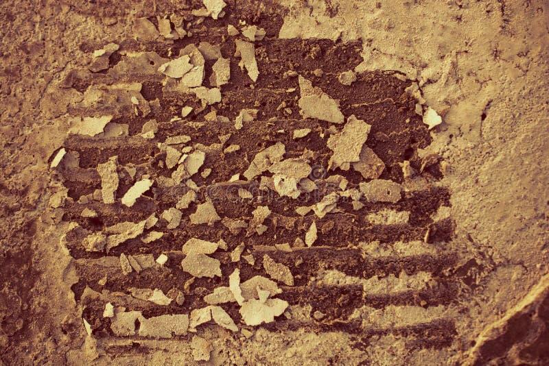 Pedras do cascalho textured como o fundo abstrato do grunge fotografia de stock