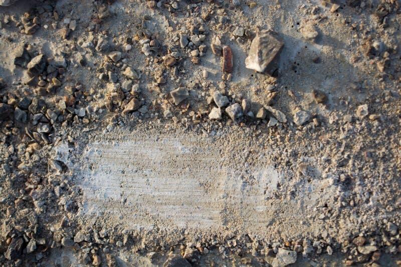 Pedras do cascalho textured como o fundo abstrato do grunge foto de stock royalty free