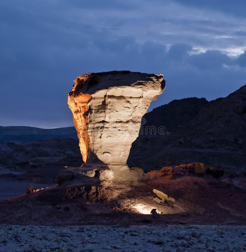Pedras do parque Geological Timna imagens de stock