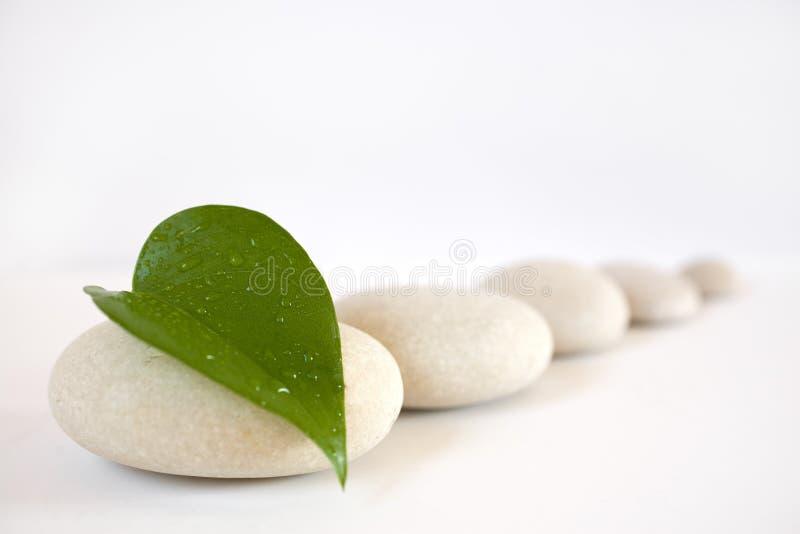Pedras do zen imagem de stock