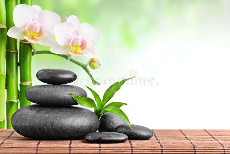 Pedras do zen fotografia de stock