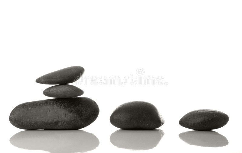 Pedras dos termas fotografia de stock