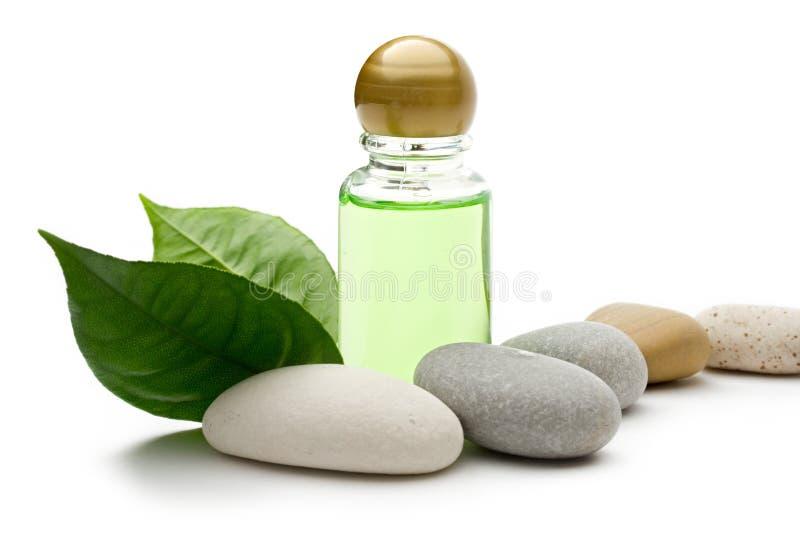 Pedras e frasco foto de stock