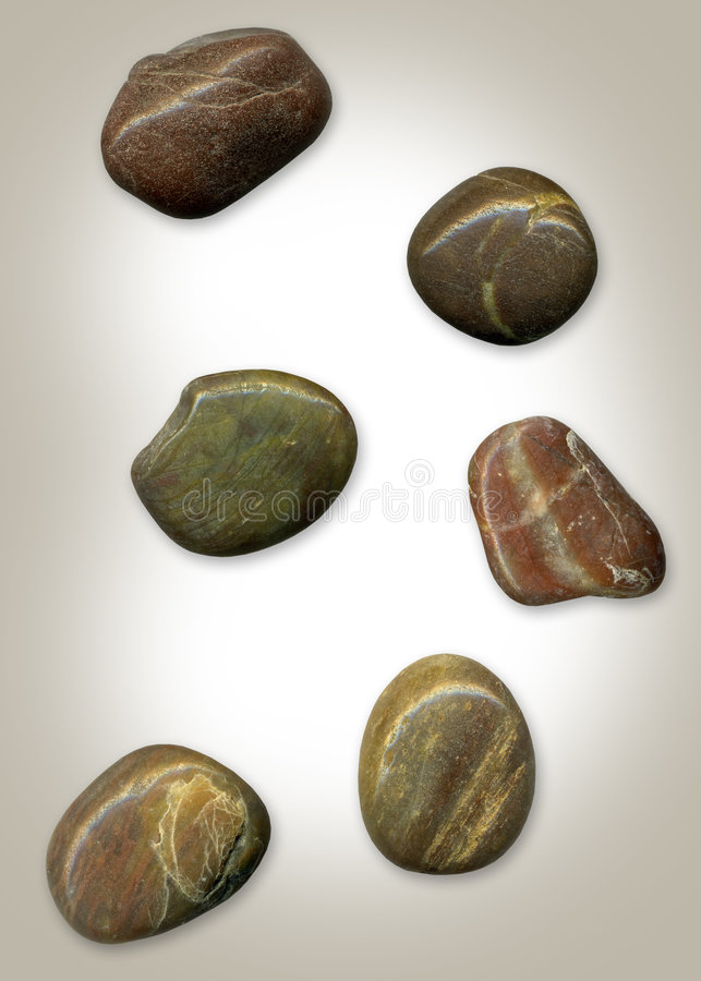 Pedras e seixos foto de stock royalty free