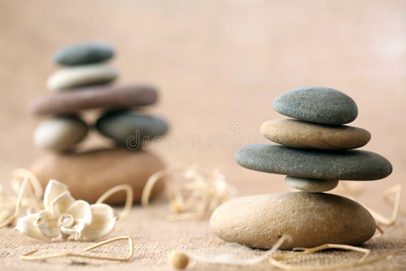 Pedras empilhadas imagens de stock royalty free