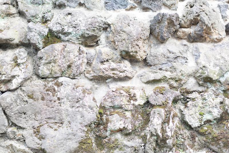 Pedras grandes parede textured imagem de stock