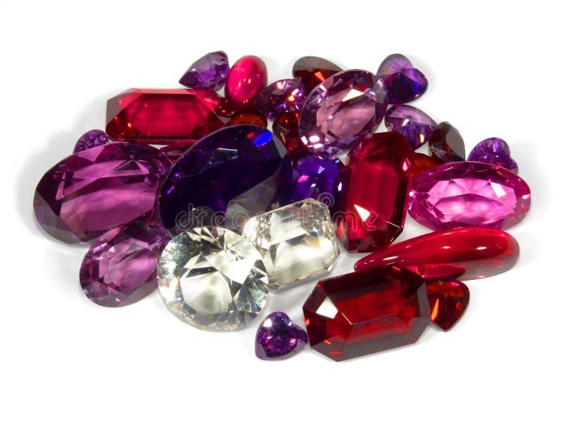 Pedras lapidadas fotos de stock royalty free