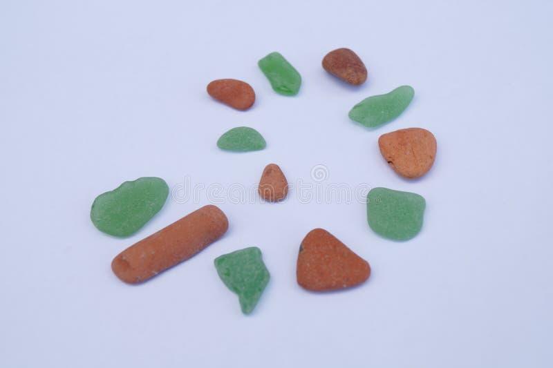 Pedras lavadas mar 4 fotos de stock royalty free