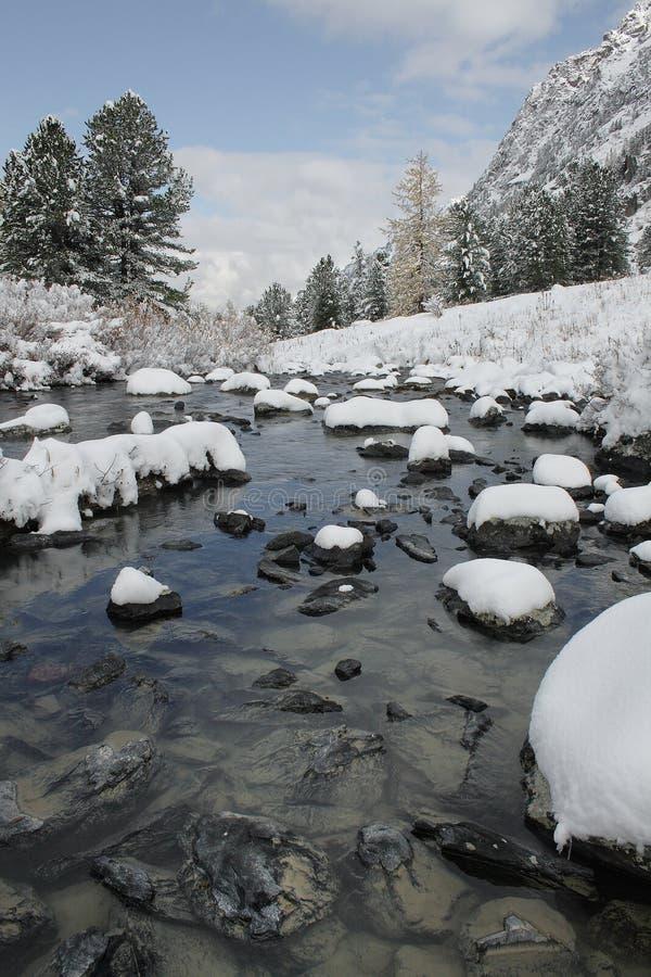 Pedras na água. fotografia de stock royalty free