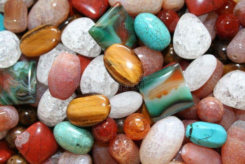 Pedras naturais imagens de stock