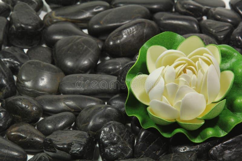 Pedras pretas foto de stock royalty free