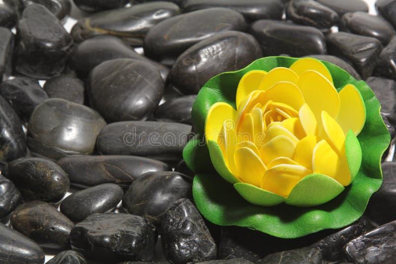 Pedras pretas imagem de stock royalty free