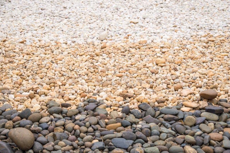 Pedras redondas do seixo fotos de stock royalty free