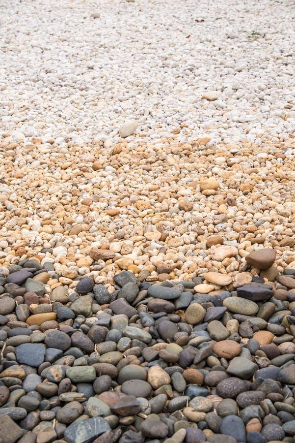 Pedras redondas do seixo imagens de stock royalty free